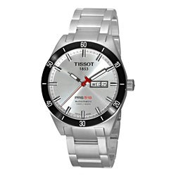 Tissot Men's T044.430.21.031.00 Silver Stainless-Steel Swiss Automatic Watch