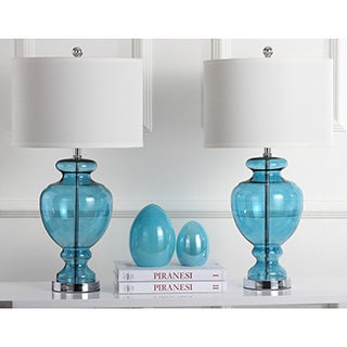 Safavieh Lighting 28-inch Turquoise Glass Table Lamps (Set of 2)|https://ak1.ostkcdn.com/images/products/P14618384w.jpg?_ostk_perf_=percv&impolicy=medium