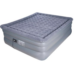 Airtek Deluxe Comfort Coil King-size Raised Pillowtop Air Bed