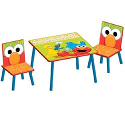 Sesame Street Table and Chair Set