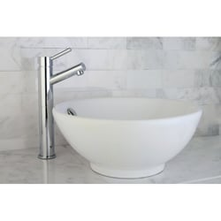 Chrome Faucet/ Vitreous China Sink /Faucet Set