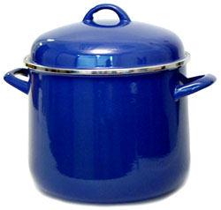 Shop Vitrex Gourmet 10 Quart Stock Pot Blue Free