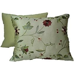 Paradise Garden Gold Pillows (Set of 2)
