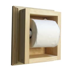 On the Wall Mega Toilet Paper Holder