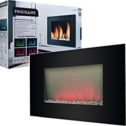 Frigidaire Oslo Wall Mounted Fireplace with LED Flame