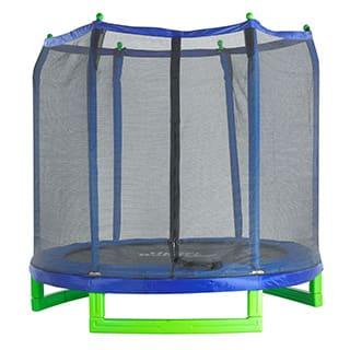 Upper Bounce 7' Indoor/Outdoor 'Classic' Trampoline & Enclosure Set|https://ak1.ostkcdn.com/images/products/P14740601L.jpg?impolicy=medium