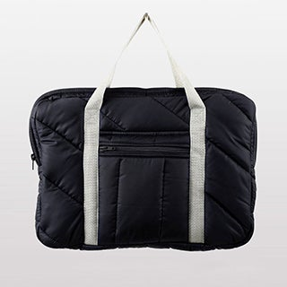 American Apparel Quilted Laptop Bag