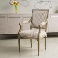 Portland Dark Grey Weathered Oak Wood Chair Free