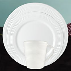 Lenox 'Tin Can Alley' 4-degree 12-piece Dinnerware Set