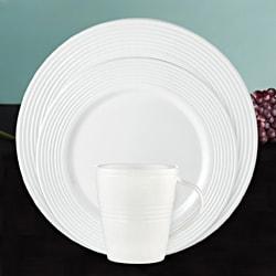 Lenox 'Tin Can Alley' 7-degree 12-piece Dinnerware Set