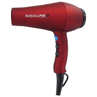 BaBylissPRO TT Tourmaline Titanium Red Hair Dryer
