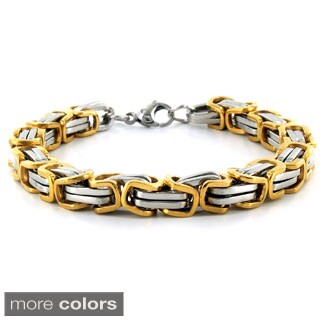 Stainless Steel Byzantine Men's Bracelet