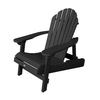 Highwood Eco-friendly Synthetic Wood Folding and Reclining Adirondack Chair (Option: White)
