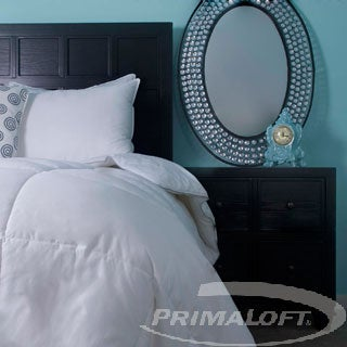PrimaLoft 400 Thread Count Supima Down Alternative Comforter with Oversized Options