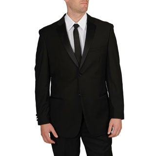 Caravelli Men's Slim Fit Black Tuxedo