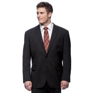 Ferretti Men's Black Wool 2-button Suit