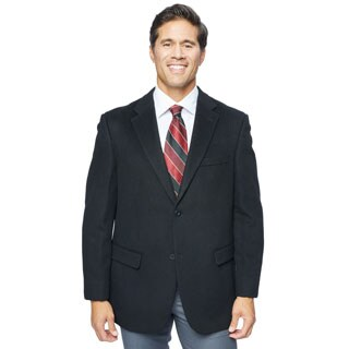 Pronto Moda Men's Wool/ Cashmere Blend Sportcoat (Option: 52l)