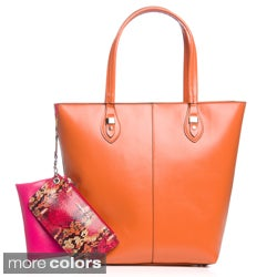 London Fog Sophie Colorblock Tote Handbag