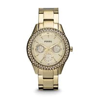 Fossil's Women's ES3101 Stella Gold-tone Stainless Steel Watch