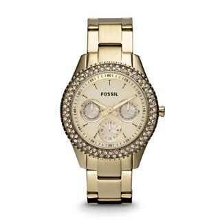 Fossil's Women's ES3101 Stella Gold-tone Stainless Steel Watch