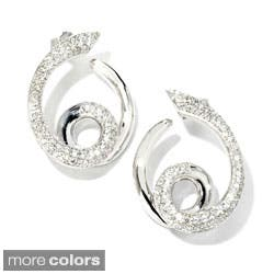 Sonia Bitton 18k Gold 1 1/5ct TDW Designer Diamond Swirl Earrings|https://ak1.ostkcdn.com/images/products/P14949942A.jpg?impolicy=medium