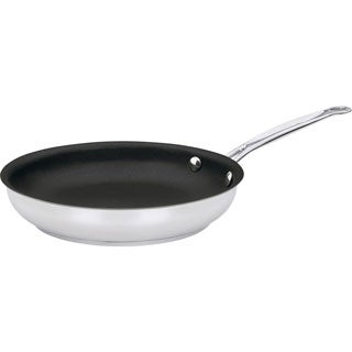 Chef's Classic Non-Stick Stainless Steel 10 Skillet