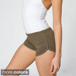 American Apparel Women's Interlock Running Shorts