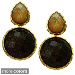 Amrita Signh Goldtone Andra Autumn Earrings