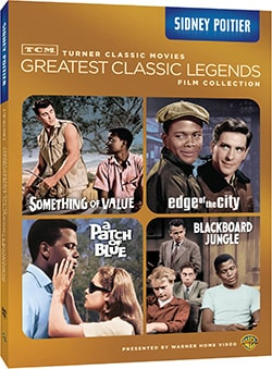 TCM Greatest Classic Films: Legends - Sidney Poitier (DVD)
