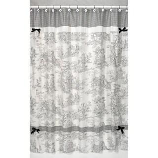 Sweet Jojo Designs Black French Toile Shower Curtain|https://ak1.ostkcdn.com/images/products/P15027616L.jpg?_ostk_perf_=percv&impolicy=medium