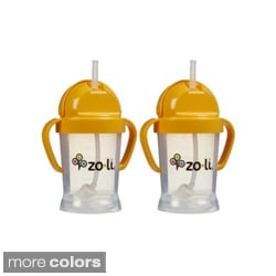 Zoli Baby BOT 6-ounce Straw Sippy Cup (Pack of 2)