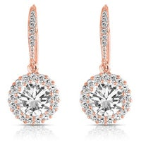 24k Cubic Zirconia Earrings