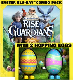 Rise of the Guardians with 2 Hopping Toy Eggs (Blu-ray/DVD)