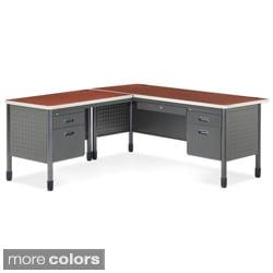 OFM 66366L L-Shaped Desk with Left Return