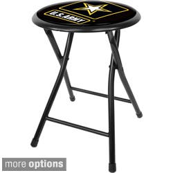 U.S. Army 18-inch Black Folding Stool|https://ak1.ostkcdn.com/images/products/P15123017.jpg?impolicy=medium