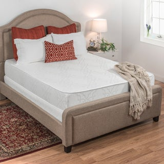 Select Luxury Flippable Medium Firm 10-inch Queen Size Foam Mattress and Foundation Set