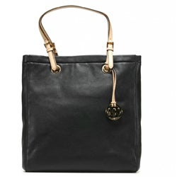 MICHAEL Michael Kors 'Jet Set' Black North/ South Tote Bag