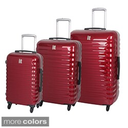 International Traveller 'Vigo' 3-piece Hardside Spinner Luggage Set