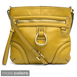 Franco Sarto 'Gatsby' Leather Crossbody Bag
