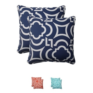 Pillow Perfect Outdoor Carmody Corded 18.5-inch Throw Pillows (Set of 2)