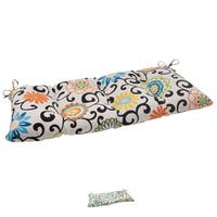 Pillow Perfect Outdoor/ Indoor Pom Pom Play Swing/ Bench Cushion