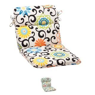 Pom Pom Play Rounded Chair Cushion