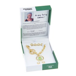 Whatever It Takes Pink Togggle Bracelet/ Earrings Set