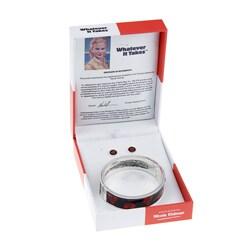 Whatever It Takes Nicole Kidman Magnetic Bracelet/ Stud Earrings Set