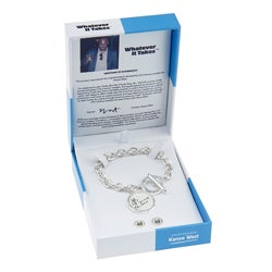 Whatever It Takes Kayne West Chain Link Bracelet/ Stud Set