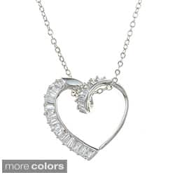 City Style Silvertone Cubic Zirconia Heart Necklace|https://ak1.ostkcdn.com/images/products/P15243551.jpg?impolicy=medium
