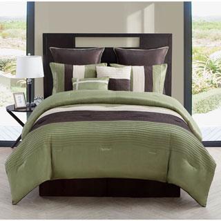 VCNY Hudson 8-piece Pleated Comforter Set