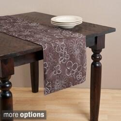 Flower Design Table Linens