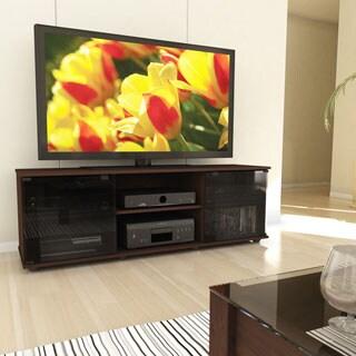 Clay Alder Home Elizabethton Fiji Urban Maple 60-inch TV/ Component Bench
