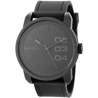 Diesel Men's DZ1446 'Not So Basic' Black Silicone Watch